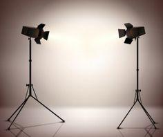 Shiny spotlights effect vector material 04