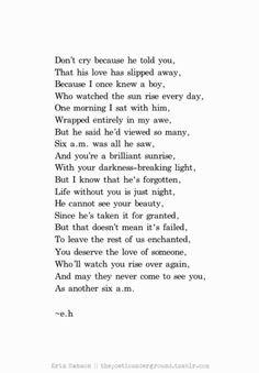 6am.  thepoeticunderground.tumblr.com #poem #poetry