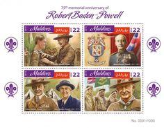 MLD16407a 75th memorial anniversary of Robert Baden-Powell (Robert Baden-Powell (1857-1941); Olave Baden-Powell (1889-1977))