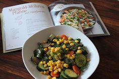 Rezept: Bunte Gemüsepfanne aus dem Alnatura-Kochbuch | Projekt: Gesund leben | Ernährung, Bewegung & Entspannung