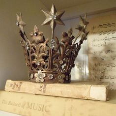 who wouldn't want a crown on their bookshelves?