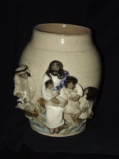 Pottery  Jesus and the children