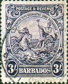 Barbados 1925 Seal of the Colony SG 239 Fine Used SG 239 Scott 179 Other British Commonwealth Empire and Colonial stamps Here