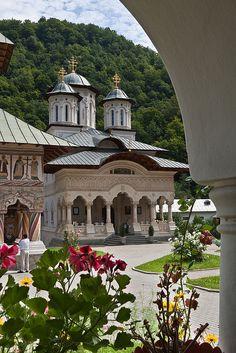 Lainici Monastery, Romania