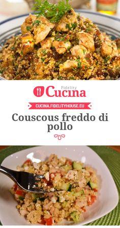 Couscous freddo di pollo