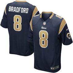 DeMarco Murray jersey Sam Bradford St. Louis Rams Nike Game Jersey - Navy  Blue C.J. 0e09fcec9