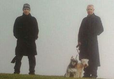 Chris, Neil and dogs ♥