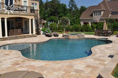 free form pool and spa - Google Search