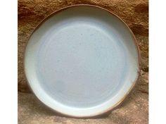 Plato de cerámica 37cm, hecho a mano.