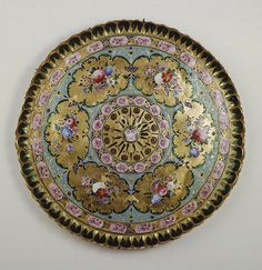Name: Tray Place of creation: Iran Date: Early century Material: gold and enamel Dimension: diam. Byzantine Jewelry, Antique Jewellery, Qajar Dynasty, Hermitage Museum, Persian Culture, Iranian Art, Equine Art, Enamels, Culture