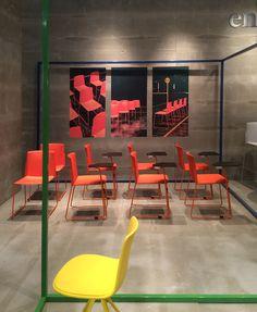 Enea Salone del Mobile 2015 / Ema chairs by lievore altherr molina