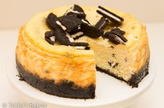 Oreo cheese cake. Recipe on blog. www.tekila.fi