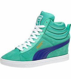 new styles 40049 1f821 PUMA Classic Womens Wedge Sneakers