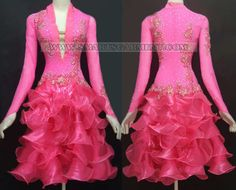 plus size latin dancing clothes,latin competition dance attire for children:LD-S