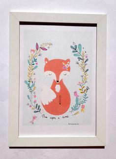 Affiche Once upon a time Art imprimé pour la par mademoiselleyo
