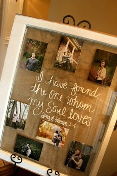 Love this!! This frame is a single sash window!!