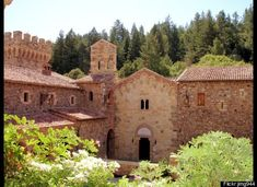 Castello di Amorosa Winery, Napa Valley. This castle was AMAZING!