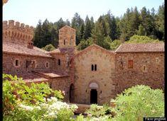 Castello di Amorosa Winery, Napa Valley. This castle was AMAZING!