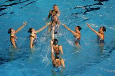Russia Olympic Synchronized Swimming