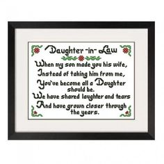 Gift To Future Daughter In Law