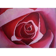 Begoña Pardo Cuadro moderno Rosa Cuadro moderno Rosa. Imagen de una rosa pintada en acrílico sobre cartón. Obra original pintada a mano por la artista Begoña...