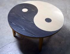Yin Yang Table from Fight Club