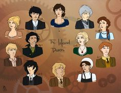 The Infernal Devices Characters