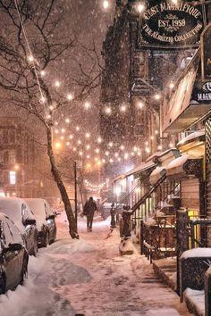 New York Winter Light
