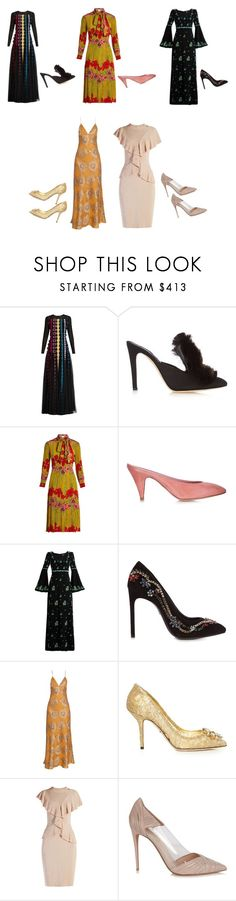 """""""Perfect Dress..**"""" by yagna ❤ liked on Polyvore featuring Mary Katrantzou, Sanayi 313, Gucci, Mansur Gavriel, Andrew Gn, Lanvin, Brock Collection, Dolce&Gabbana, Givenchy and Valentino"""