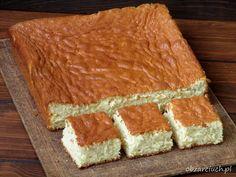 Ciasto Castella Polish Cake Recipe, New Recipes, Cake Recipes, Food Cakes, Tiramisu, Sweet, Ethnic Recipes, Tarts, Kitchen