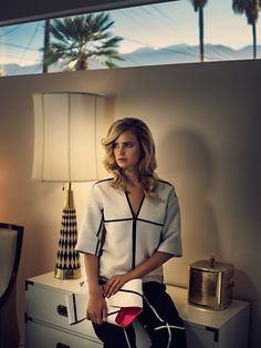 Fashion Editorial for Quality Magazine.Photographed with Model Anmari Botha in Palm Springs.
