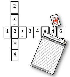 Scralcul - jeu pour travailler les quatre opérations - La classe de Mallory