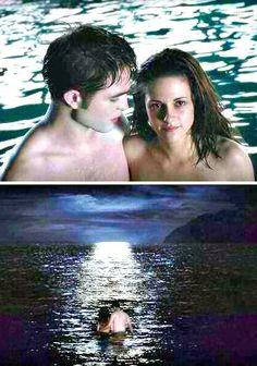 Breaking Dawn part 1 ~ Edward and Bella Die Twilight Saga, Twilight Saga Books, Twilight Edward, Twilight Movie, Bella Cullen, The Cullen, Edward Bella, Edward Cullen, Nikki Reed