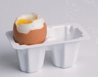 2 – CZ – 2511 is a stackable egg holder with a playful and functional shape. Egg Holder, Working On Myself, New Work, Anna, Behance, Desserts, Check, Food, Design