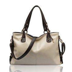 Vintage Burnished Leather Shoulder Bag Handbag