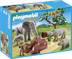 bol.com | Playmobil Afrikaanse Savannedieren - 5417,PLAYMOBIL