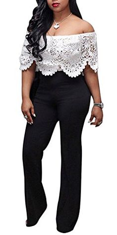 RDHOPE-Women Blazer Bell Sleeve Over Waist Wide Legs Party Jumpsuits Rompers