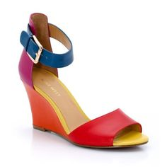 Sandales compensées, cuir, Nw Ferdinand (love It)