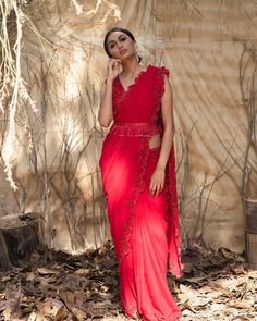get Designer look to your old sarees