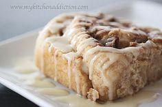 Maple Sourdough Cinnamon Rolls
