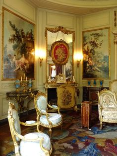 Musée Nissim de Camondo, Paris , France  - Interior