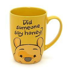 Winnie the Pooh Peek-a-Boo Mug...cuuuuttteeeee