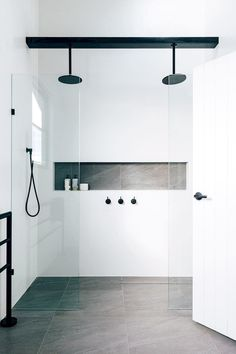More click [.] Bathroom Shower Design Beautiful Emily Henderson Bathroom Trends 2019 Pioneer Craftsmen 10 Of The Most Exciting Bathroom Design Trends For 2019 Bathroom Trends, Bathroom Renovations, Bathroom Ideas, Bathroom Inspo, Remodel Bathroom, Bathroom Designs, Bling Bathroom, Peach Bathroom, Bathroom Accents