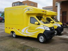 special truck : Chang'an mobile sales van trucks for sales