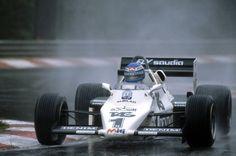 1983 GP Belgii (Keijo Rosberg) Williams FW08C - Ford