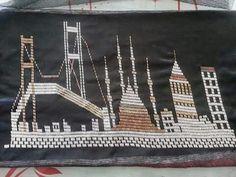 Hand Embroidery, Bobby Pins, Hair Accessories, Allah, Hardanger, Hairpin, Hair Accessory, Hair Pins