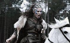 Pictish horsewoman warrior.