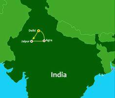 Travel to India - Golden Triangle, India (Delhi, Jaipur, Agra)