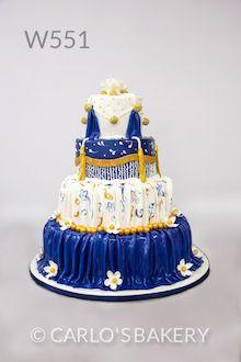 Carlo's Bakery Wedding Cake, W551,