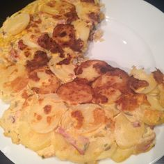 Lekker eten met Marlon: Spaanse omelet (tortilla) met restjes die ik overhad van…
